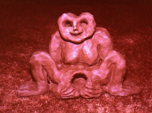 sheela na gig earthenware